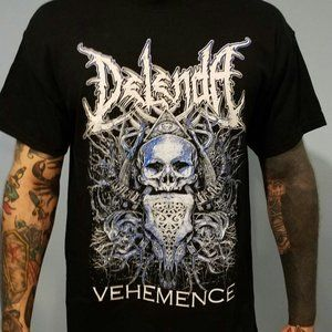 Delenda Vehemence Band Merch Mens T-Shirt